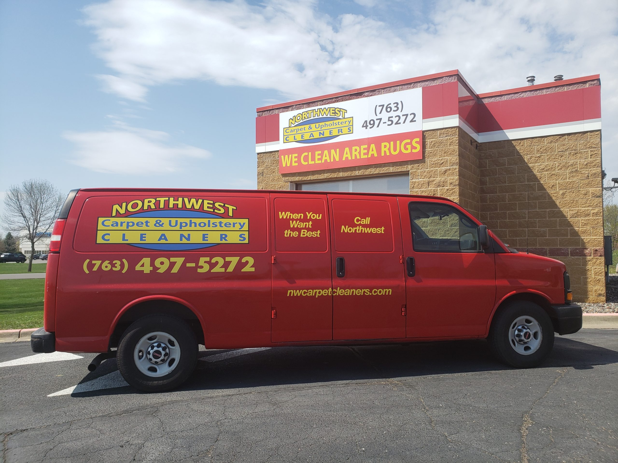 Northwest Carpet Cleaning Truck - Minneapolis Minnesota